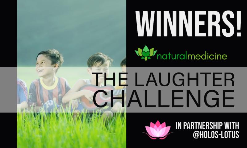 Winners Announcement 📣 #LaughterIsMedicine Challenge 👩⚕️😆