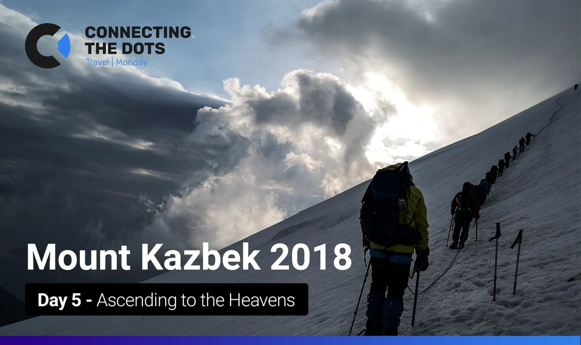 Expedition to Mount Kazbek: Day 5 – Ascending to the Heavens