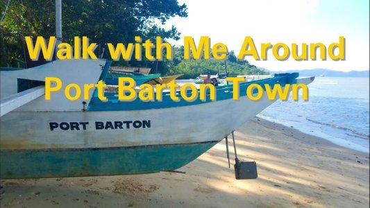 Port Barton Vlog 3: Walk with Me Around Town