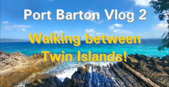 Port Barton Vlog 2: Literally Walking Between 2 Islands!
