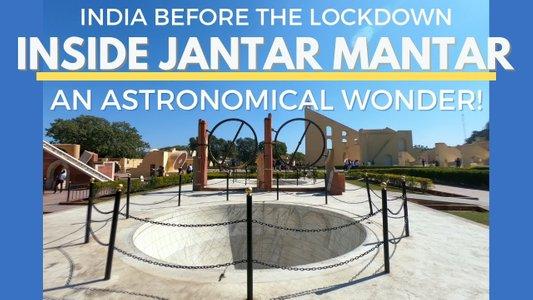 Inside Jantar Mantar in 3 Minutes! India's Astronomical Wonder