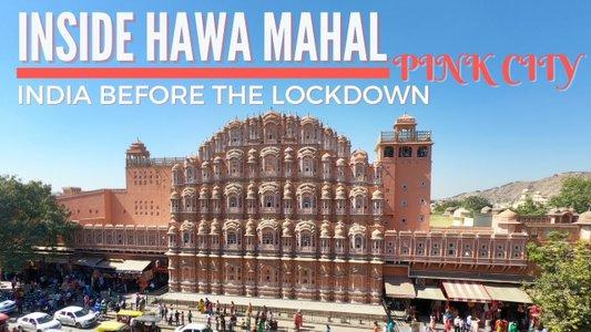 "VLOG: Inside Hawa Mahal ""The Palace of Winds"" | Pink City Jaipur | India Travel"
