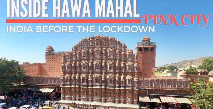 "VLOG: Inside Hawa Mahal ""The Palace of Winds"" 
