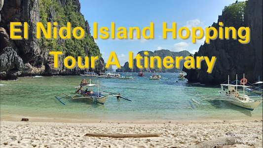 Island Hopping in El Nido, Palawan, Philippines: What to Expect in Tour A? Vlog