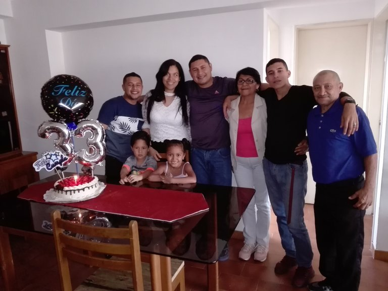 Foto de mi hermosa familia