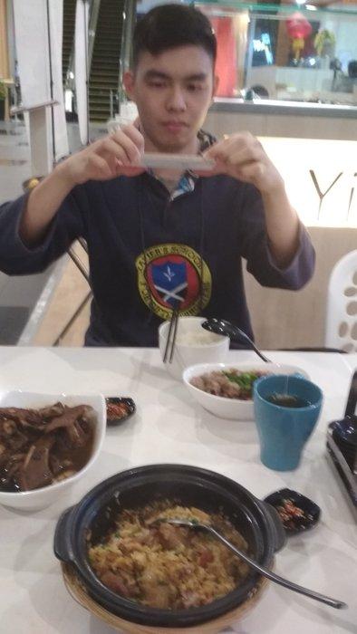 Ipoh Claypot Chicken rice at top floor Yih Lim Claypot Chicken Rice
