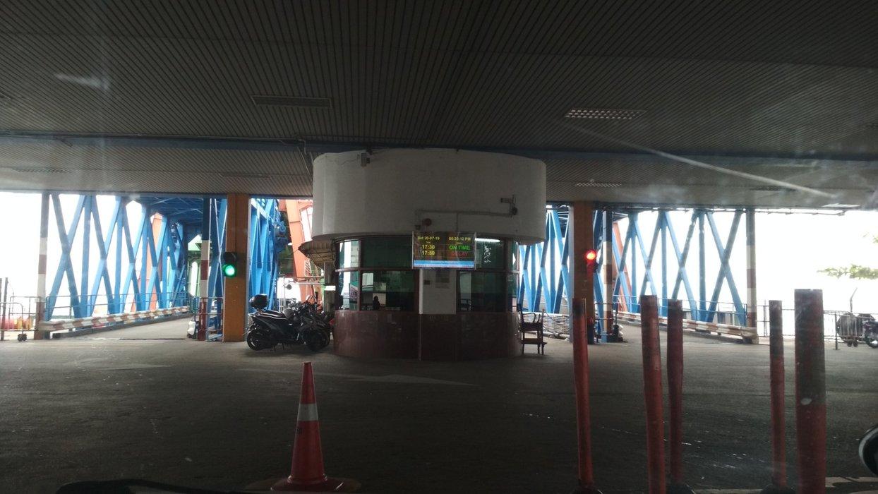 Ferry terminal at Butterworth