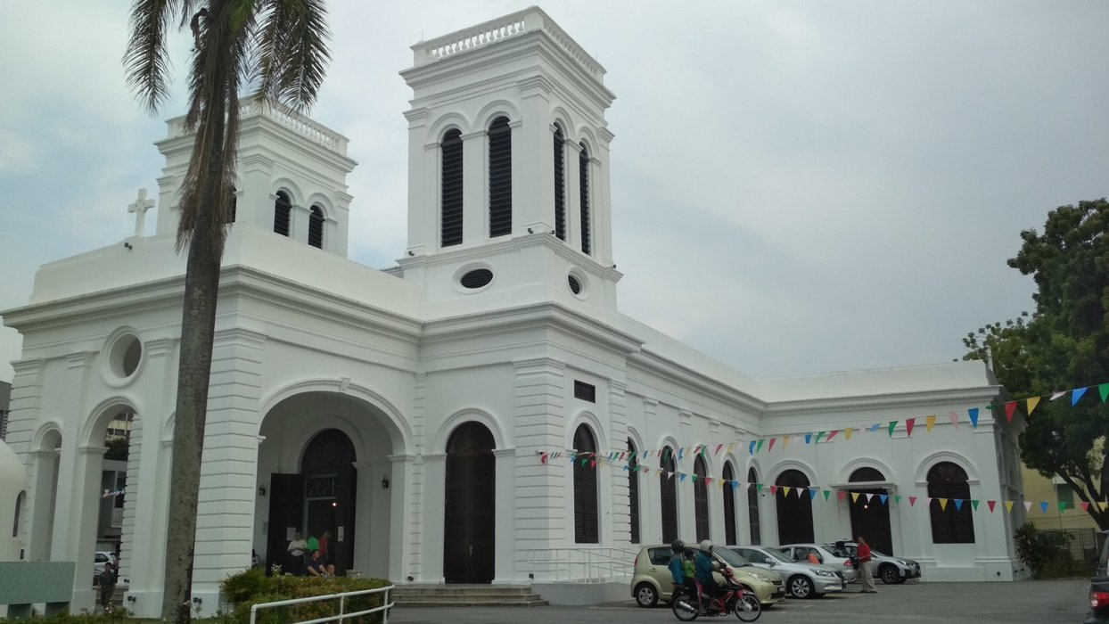 Another angle from the front of the church