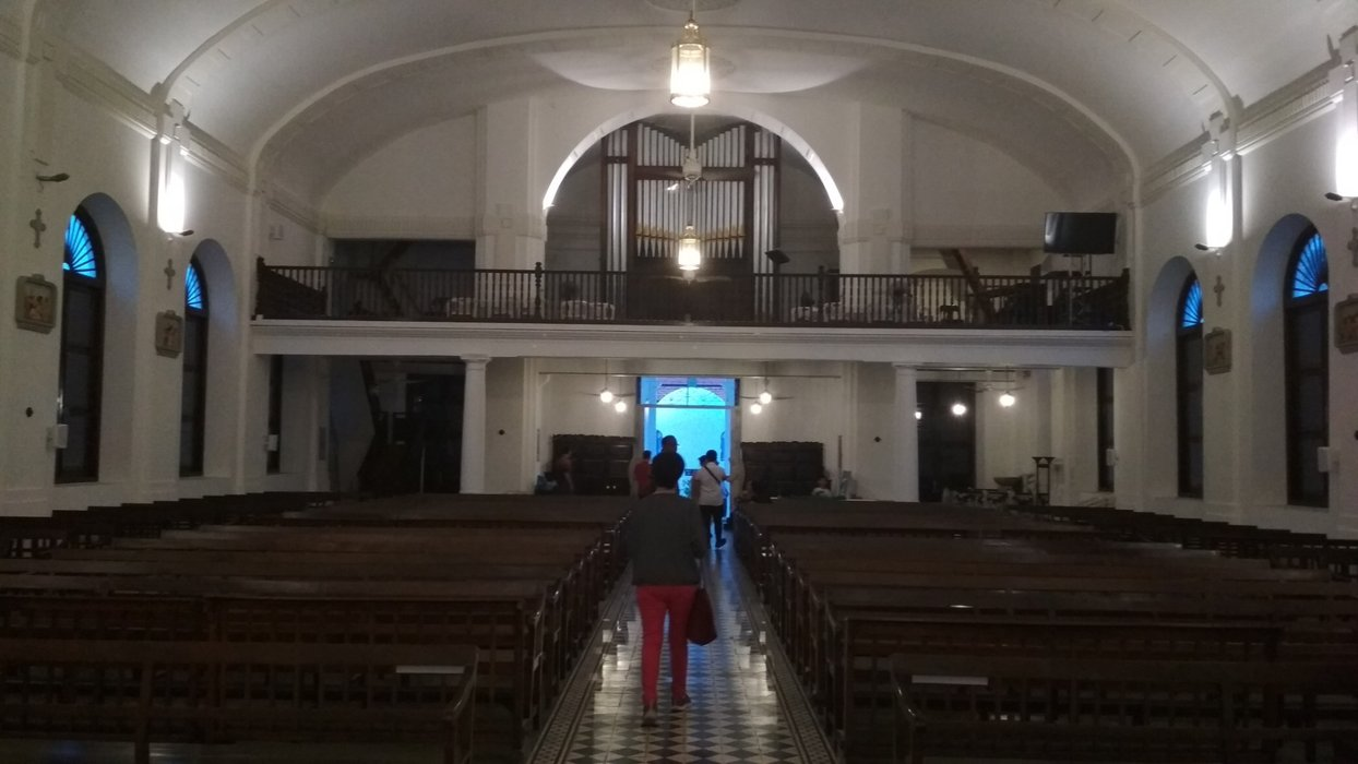 Not many churches in Malaysia maintain their pipe organ