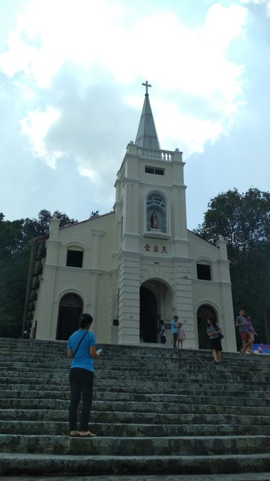 After morning mass, we head to the chapel