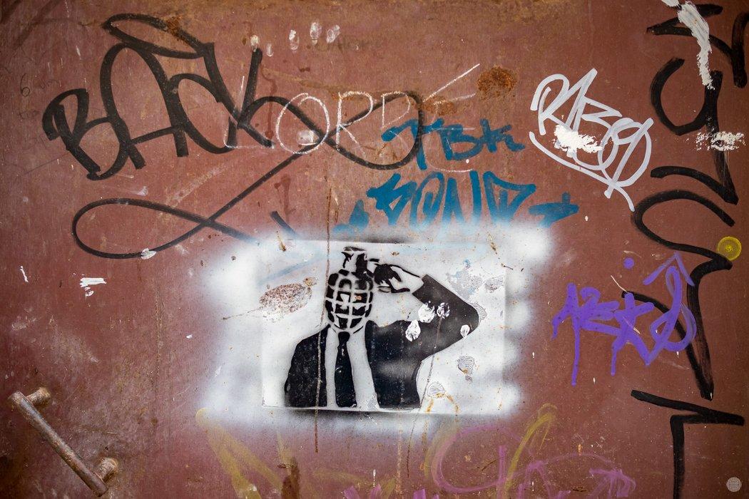 There were several interesting graffiti in Altamura