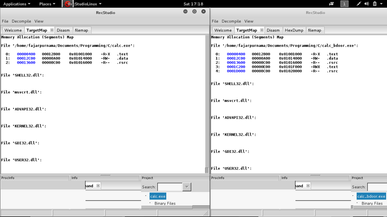 Figure 4. Examining executable with recstudio.png