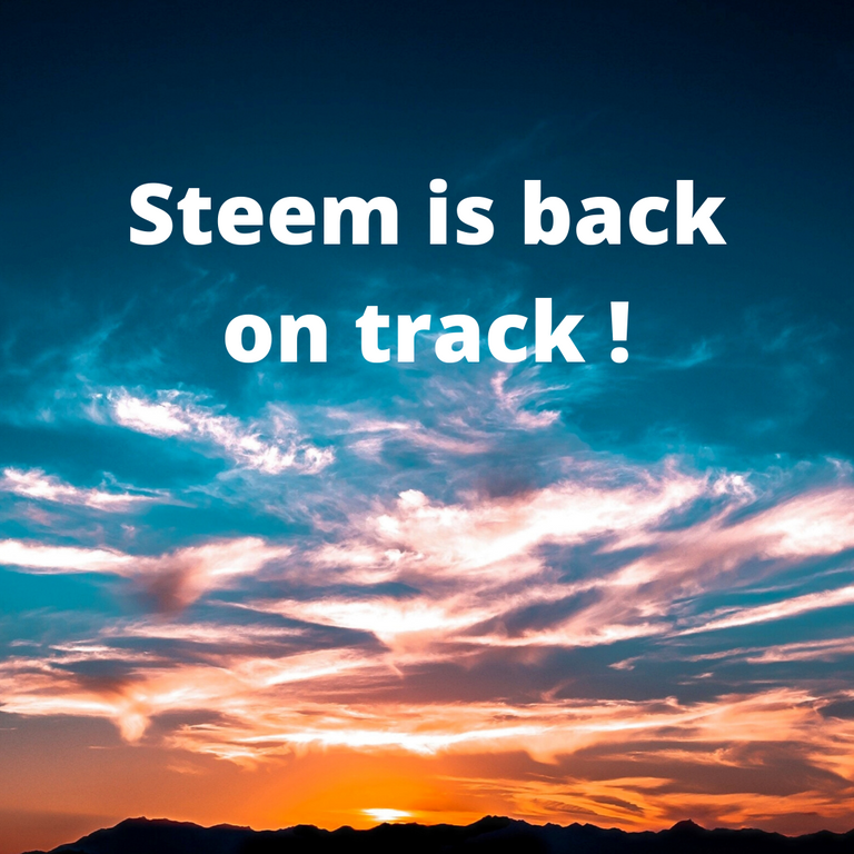 Steem is back on track !.png
