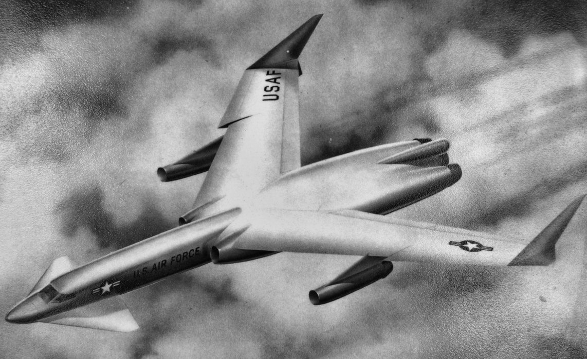 They really tried to build a nuclear aircraft.