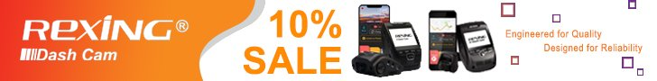 Get 10% OFF on Best Selling Dash Cams!