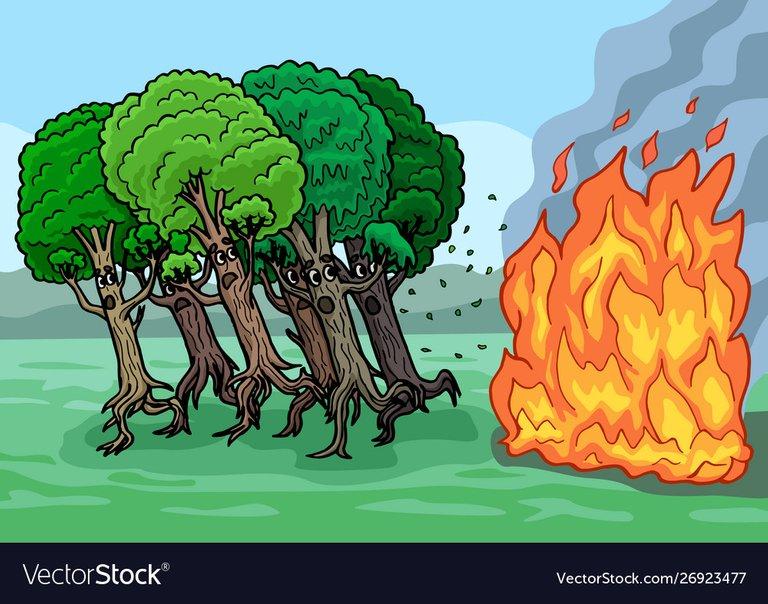 cartoon-trees-are-very-afraid-fire-they-escape-vector-26923477.jpg