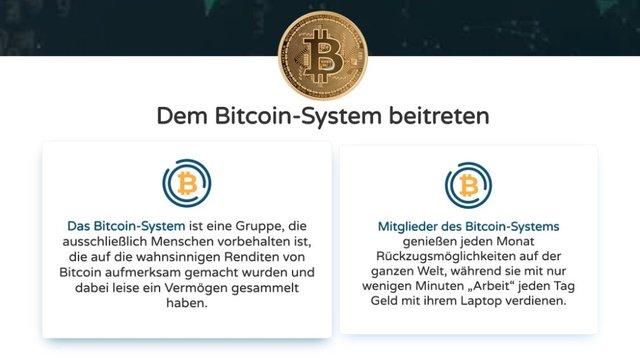 Bitcoin Sytem Wie es funktioniert