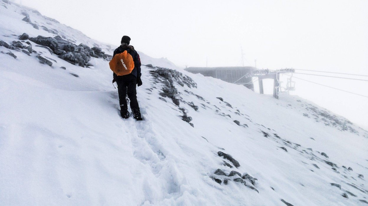 Almost at the top of Kasprowy Wierch. Photo by Alis Monte [CC BY-SA 4.0], via Connecting the Dots
