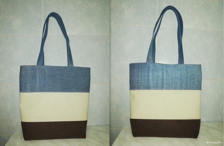 A Bag Made Of Three Different Fabrics.jpg