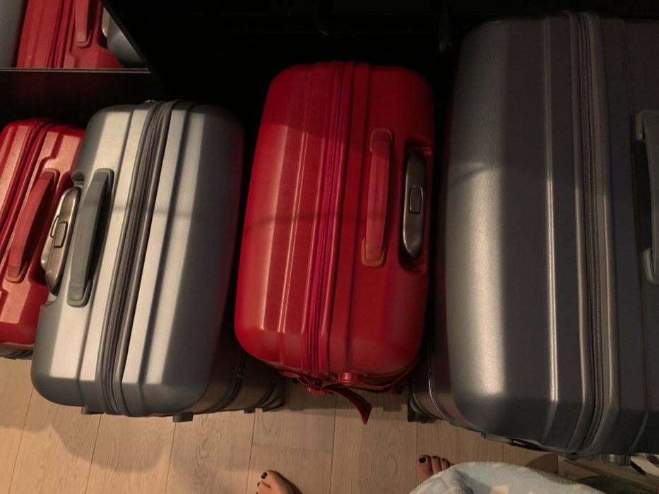 # source : my personal suitcases and my toes in the picture