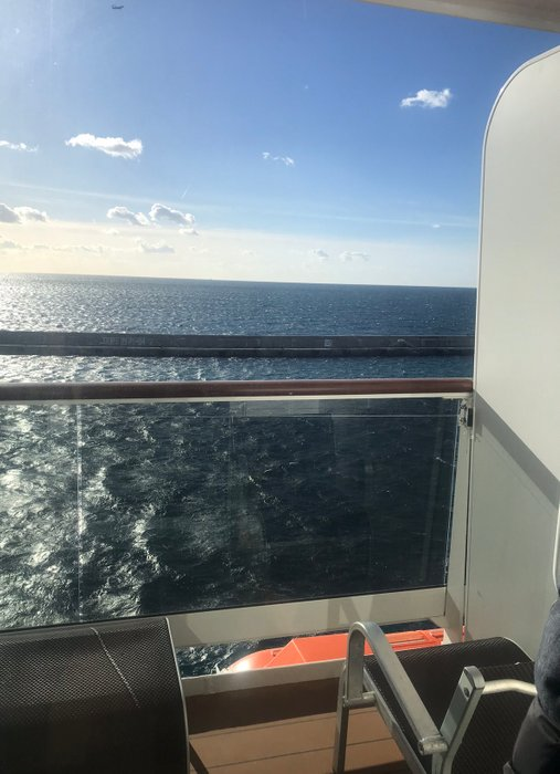 # source : my personal cruise balcony on the last ship