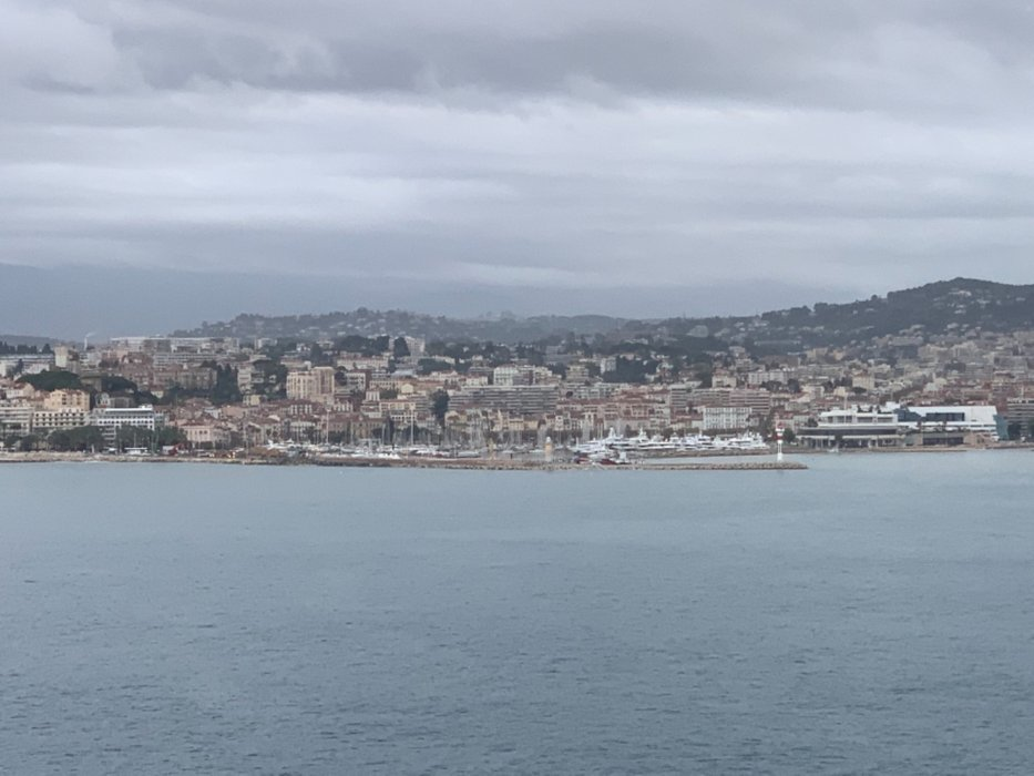 # Cannes is a bit cloudy