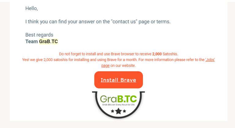GRABTC: Scam or Not?