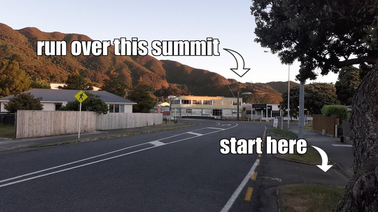 hutt side of the hill