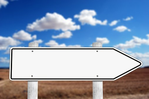 Directory, Signposts, Board, Shield