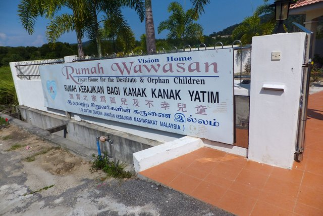 Rumah Wawasan, Foster Home for the Destitute & Orphan Children