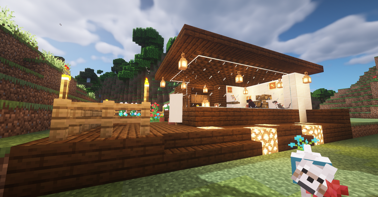 I Build A Cat Cafe Minecraft Hive