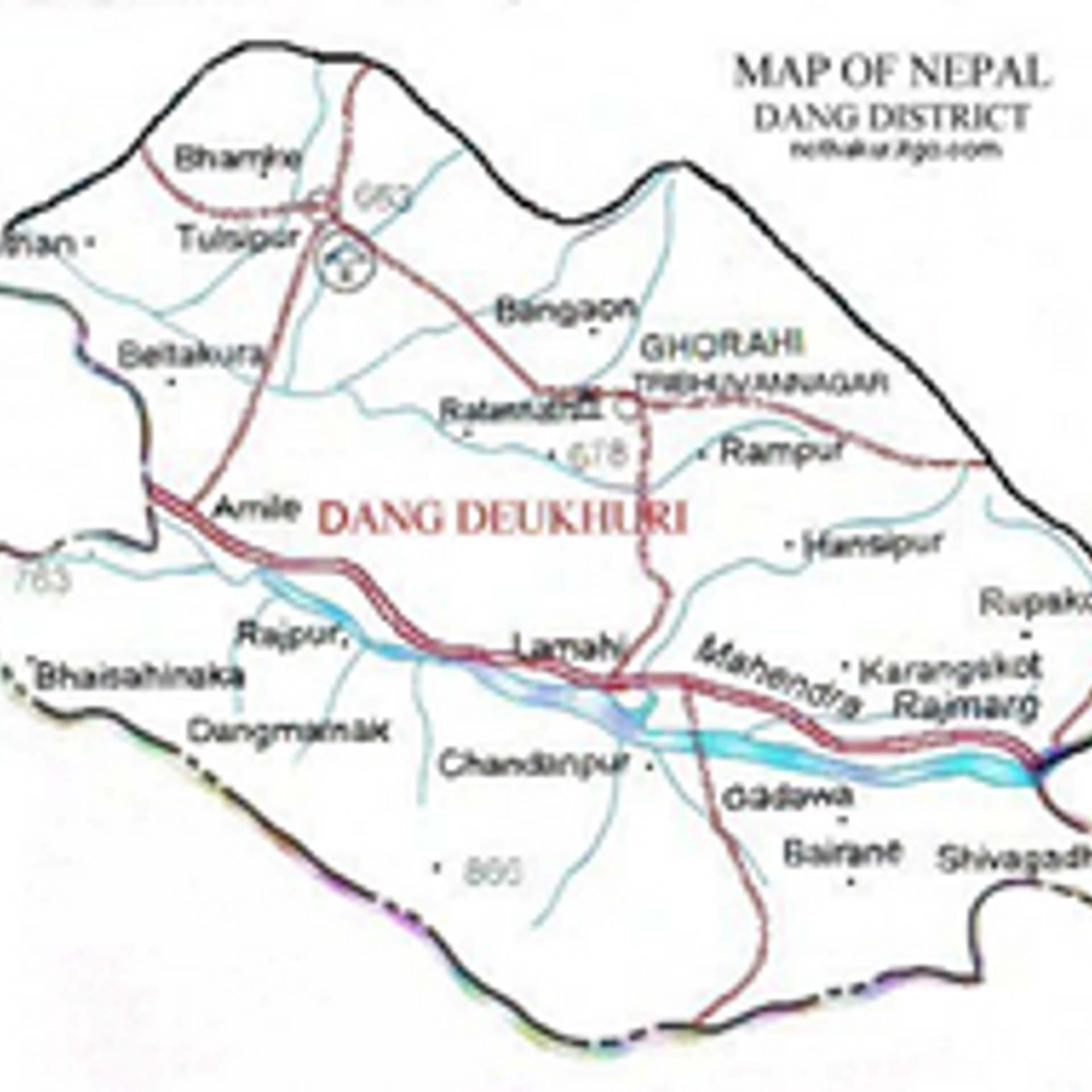 Places to visit in Dang District of Nepal by Guest Editor ...