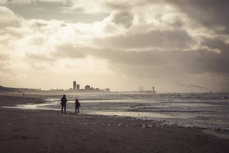 The Dutch North sea coast!
