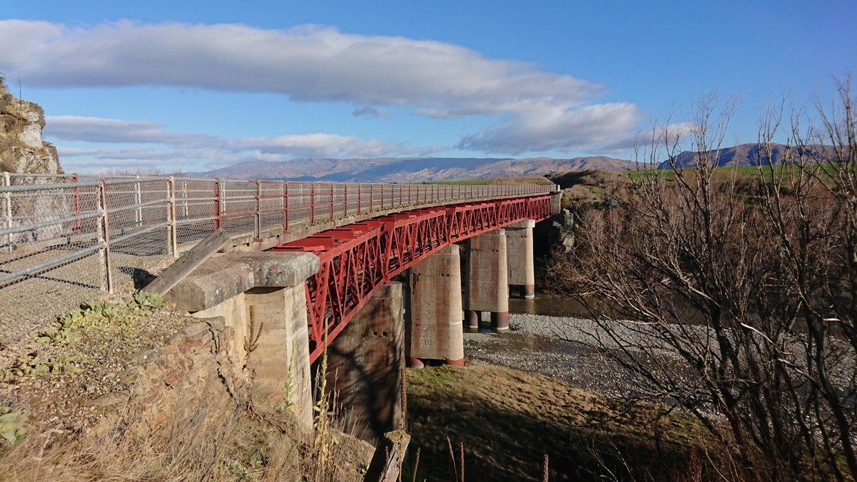 "The ""Manuherikia No. 1 Bridge"""