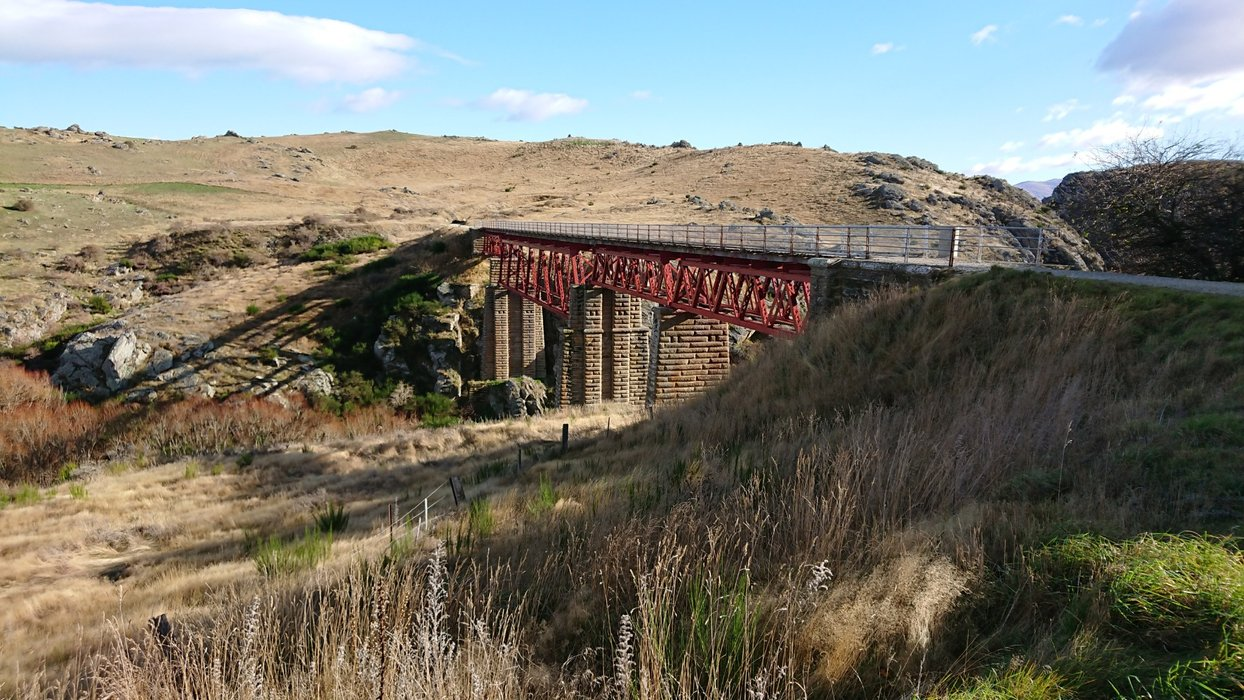The Poolburn Viaduct