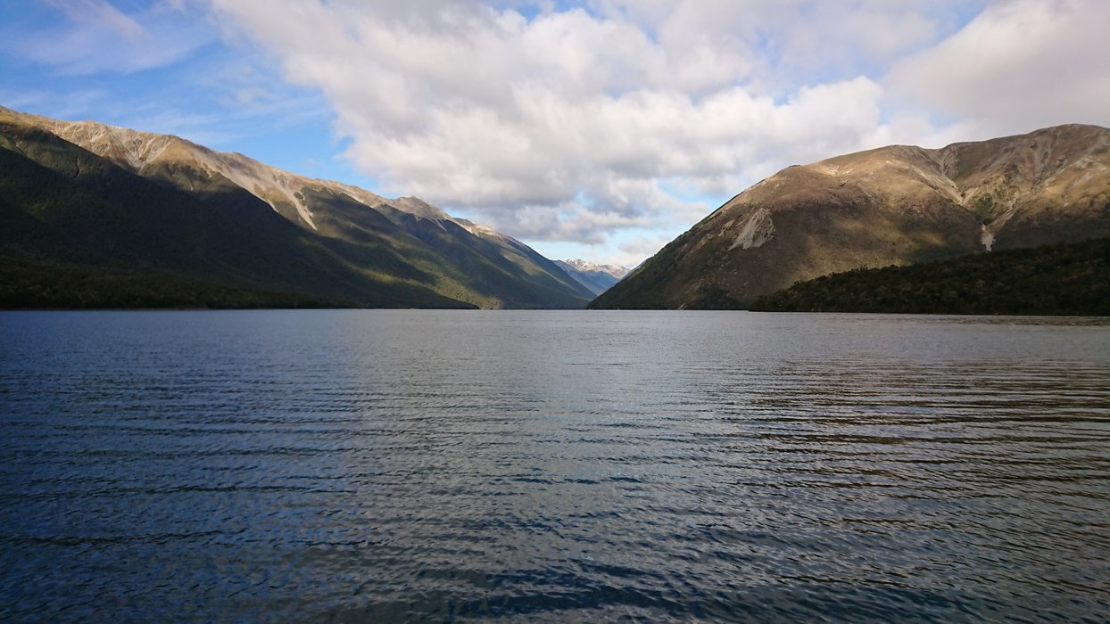 Lake Rotoiti without ducks