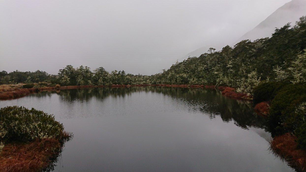 Small lake at St James Walkway