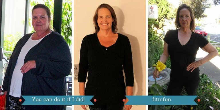 fitinfun You can do it if I did! sharon before and after.jpg