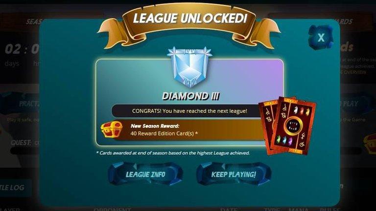 Day 33 Diamond III League Reached.jpg
