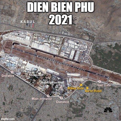 Kabul Airport - DIEN BIEN PHU 2021