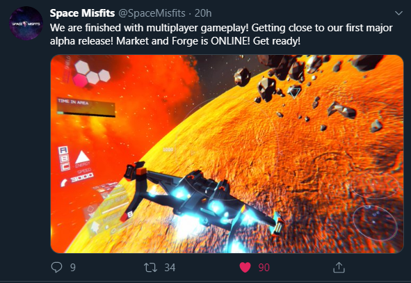 Space Misfits twitter alpha release.png