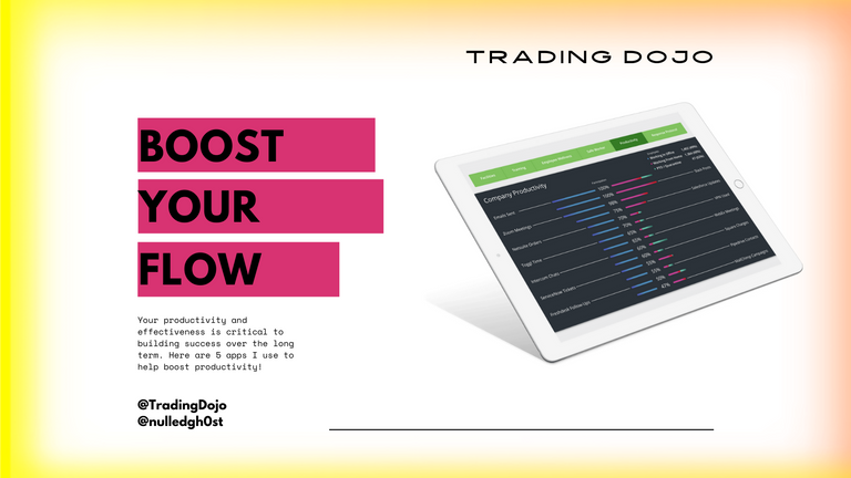 TradingDojo #6 Boost Your Productivity.png