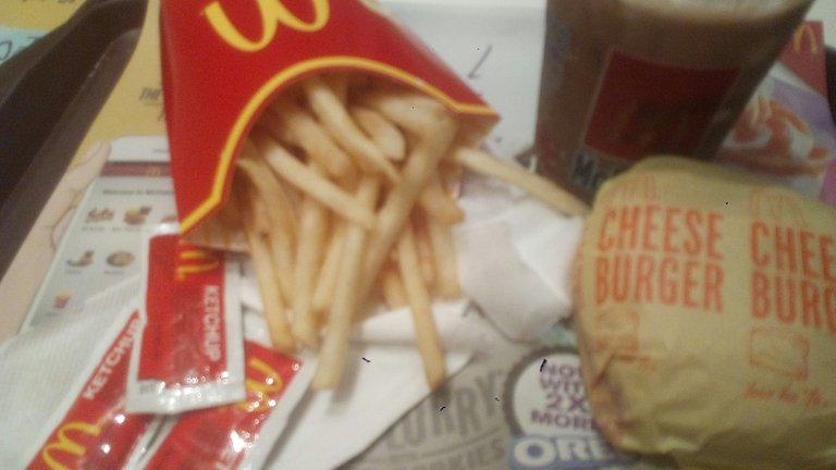 Fastfood meal