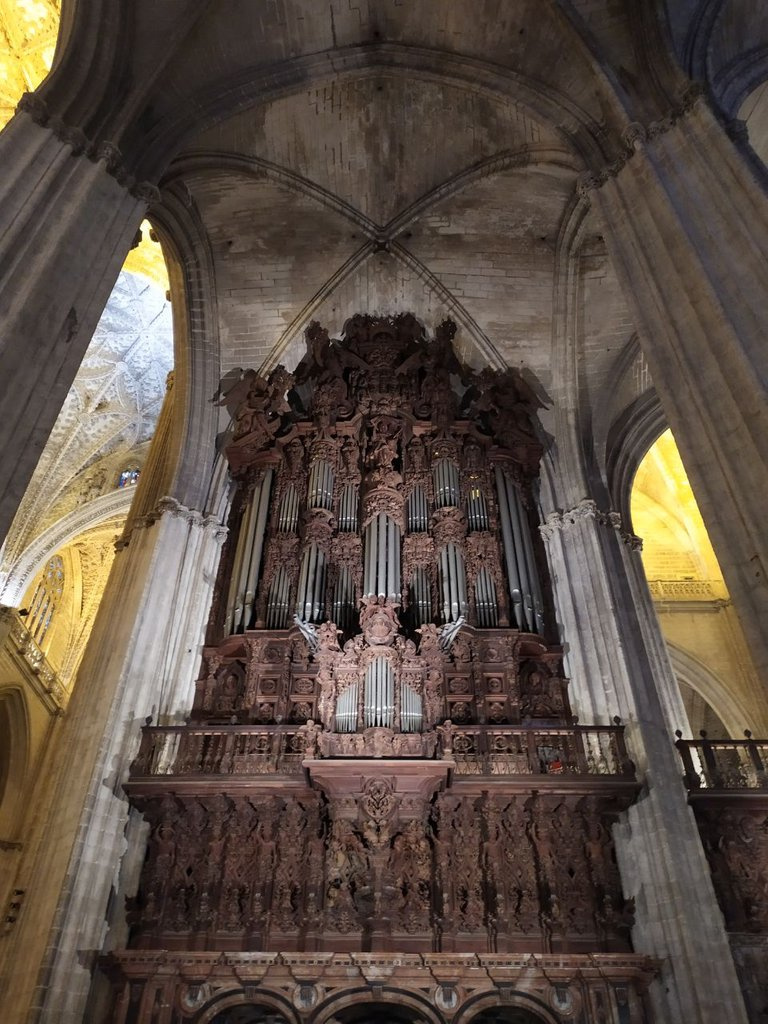 Organ - Seville Cathedral