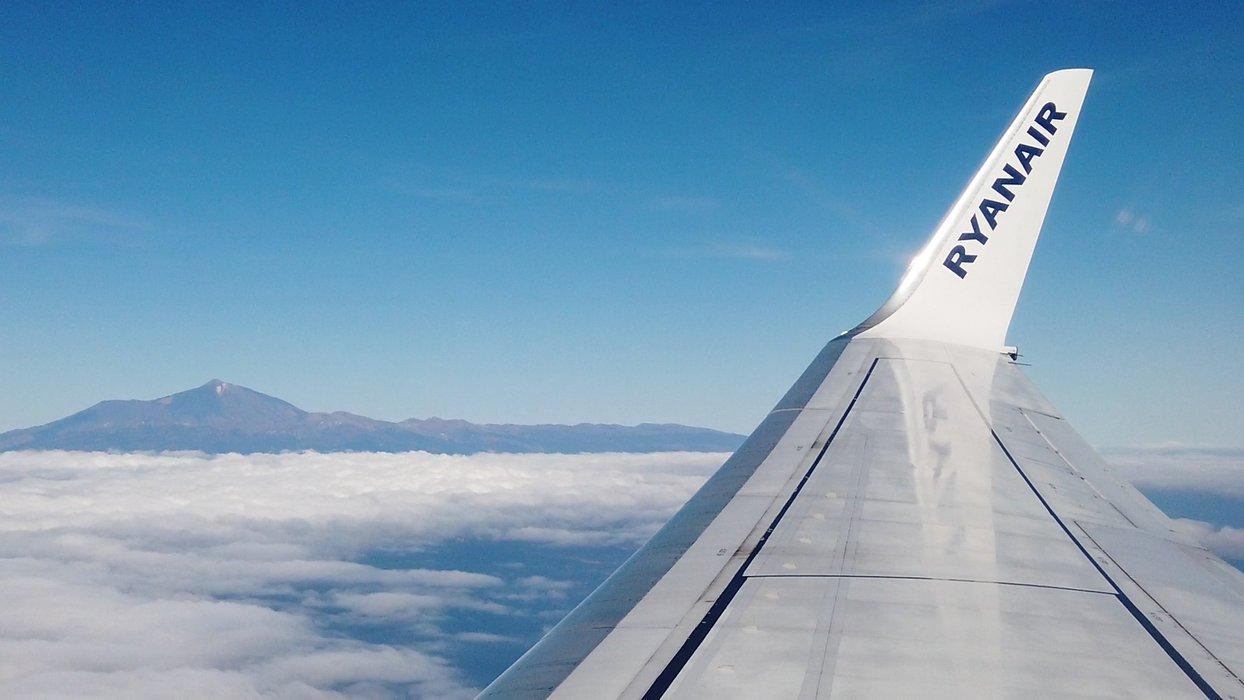 Teide on the horizon