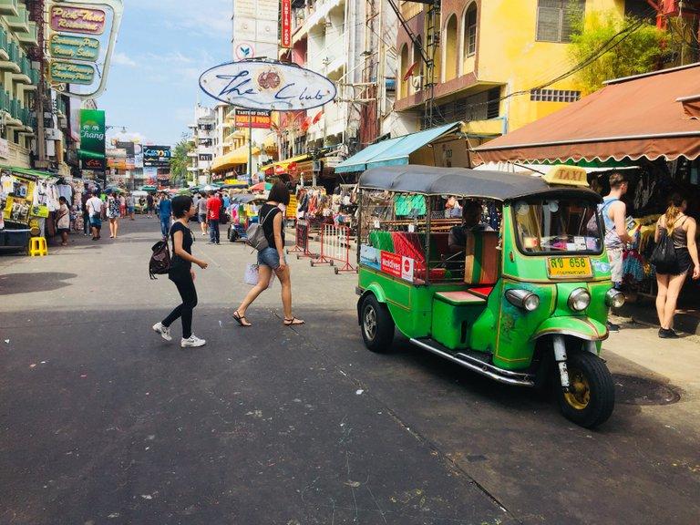 The Khao San Road
