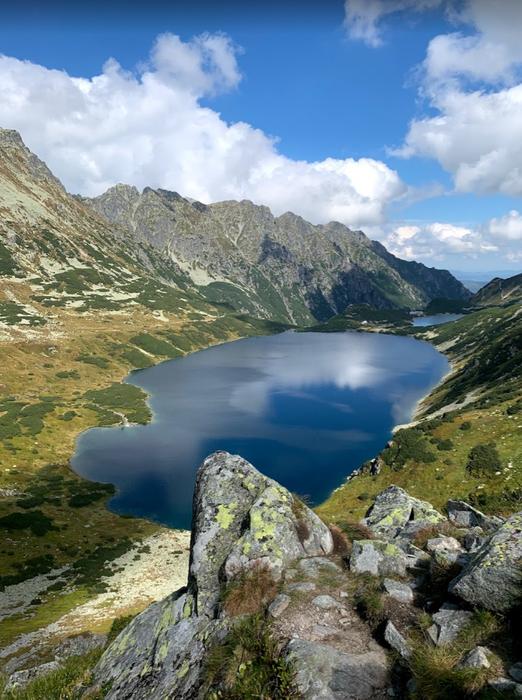 Wielki Staw Polski, the Tatras, Poland