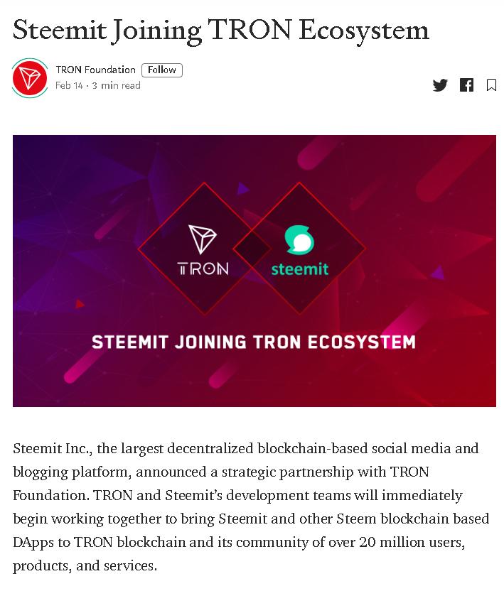 2020-02-14 19_00_18-Steemit Joining TRON Ecosystem - TRON Foundation - Medium.png