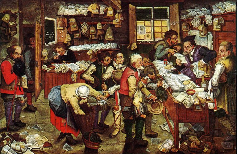 Pieter_Brueghel_the_Younger,_'Paying_the_Tax_The_Tax_Collector'_oil_on_panel,_16201640._USC_Fisher_Museum_of_Art.jpg