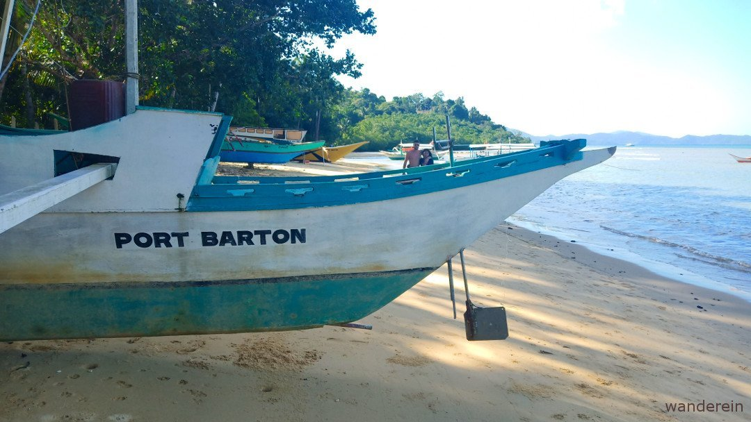 Port Barton, a small fishing village, is now getting the world's attention